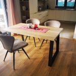 stolová podnož noha uran