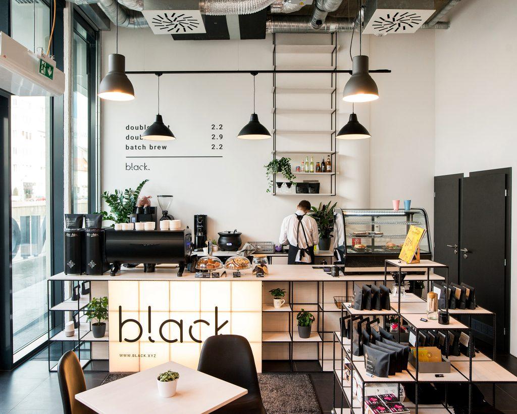 Realizácia interiéru kaviarne black.lab, Staromestská, Bratislava (december 2018)