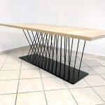 Podnož pod jedálenský stôl, 2021 (v spolupráci s architektonickým štúdiom REcreate)